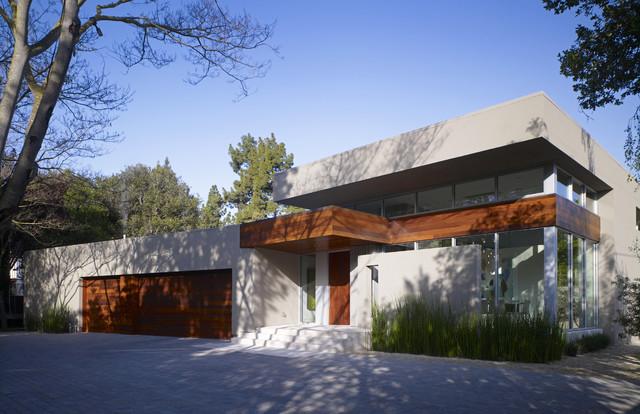 Modern Menlo Park Residence Contemporary Exterior
