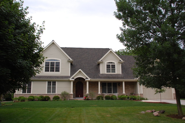 modern modern cape cod style home arlington heights il in james