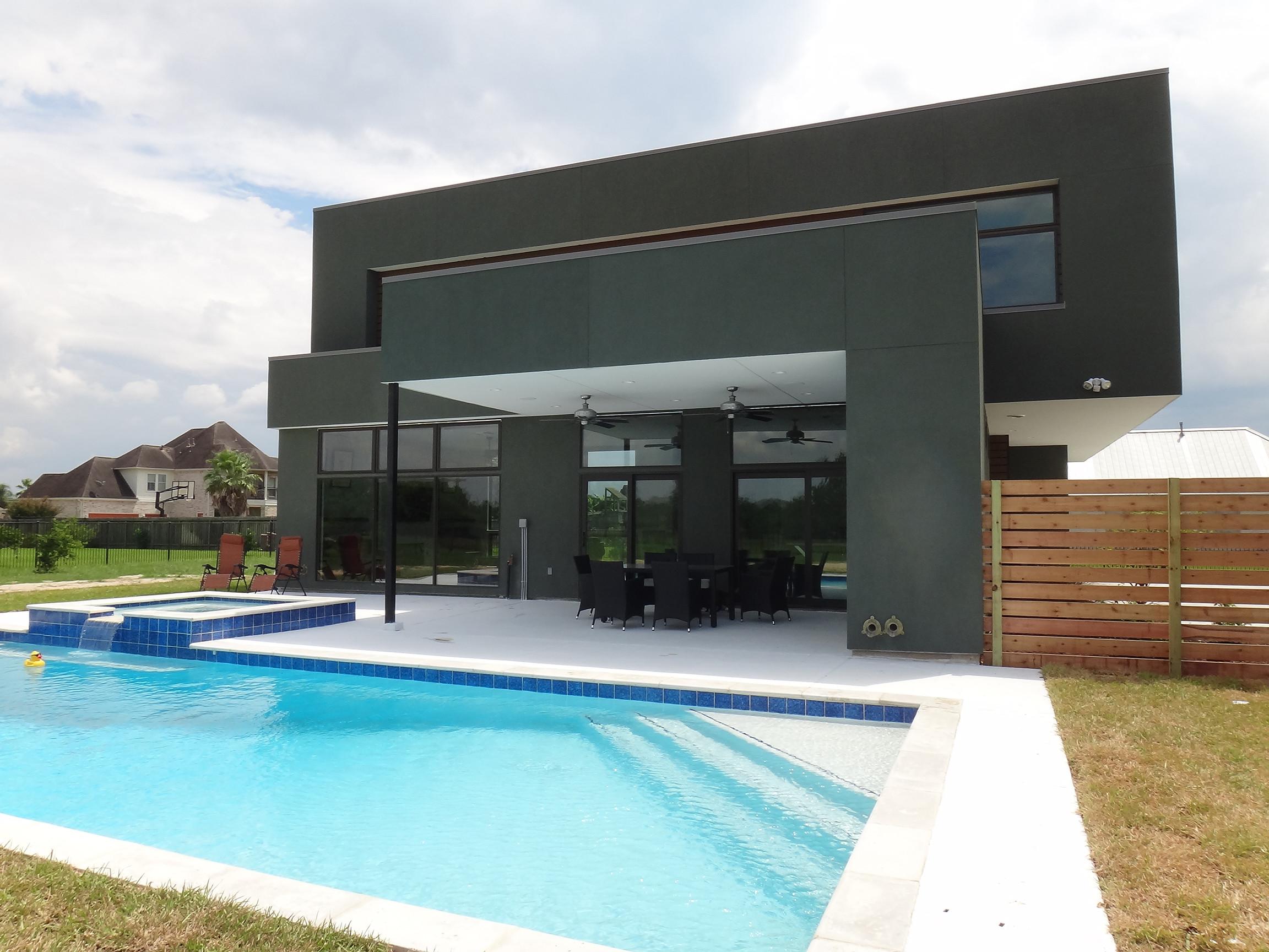Modern Patio and Pool