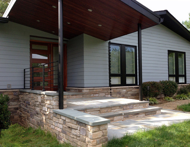 Modern Porch Midcentury Exterior Other By Place