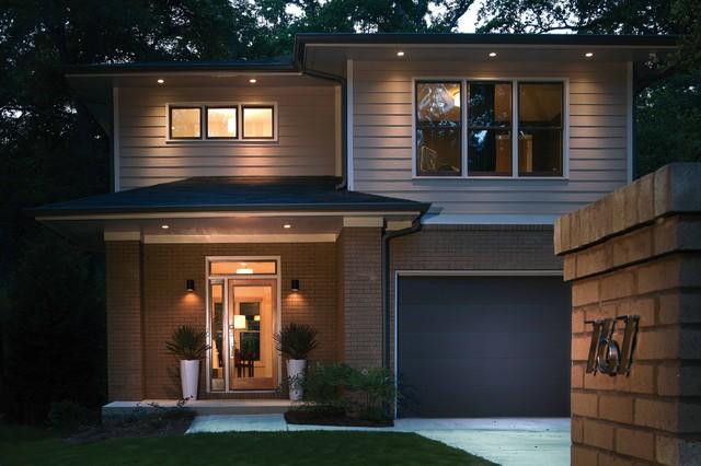 Modern Prairie Home - Gresham - Contemporary - Exterior - Atlanta ...