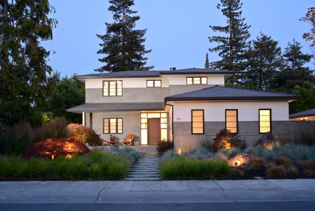 Modern Prarie contemporary-exterior