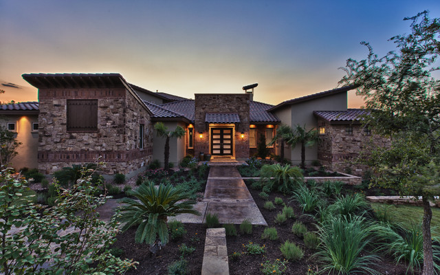 Modern santa fe style contemporary exterior other for Santa fe style homes