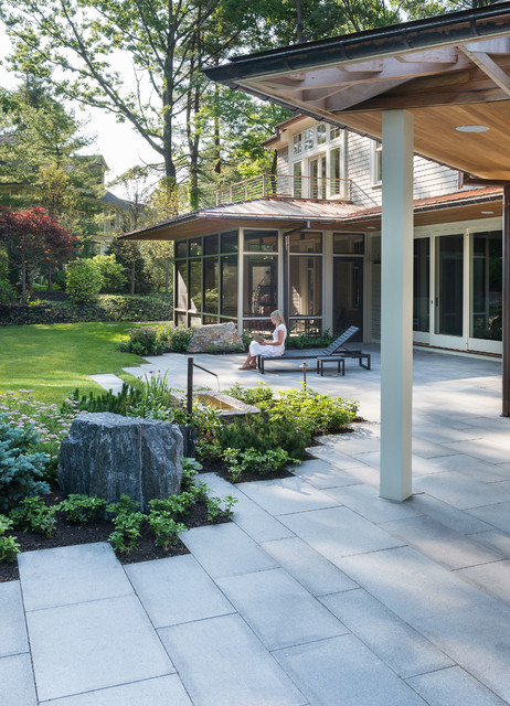 Modern Screen Porch Boston By Flavin Architects