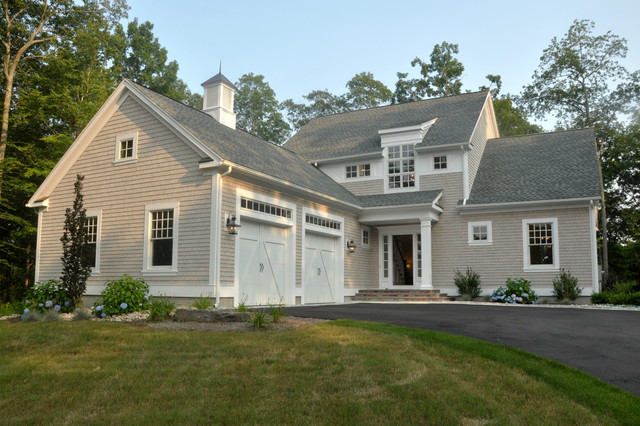 Modern shingle style in connecticut for Modern shingle style