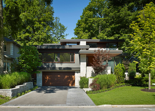 modern sidesplit house modern exterior toronto by jillian
