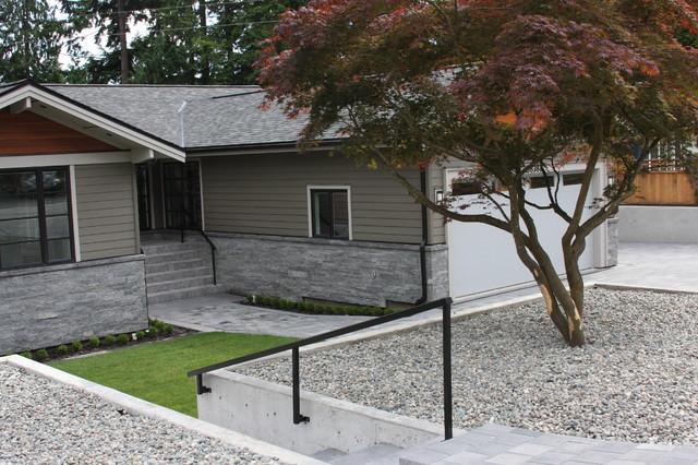 Exterior: Modern Stone Work