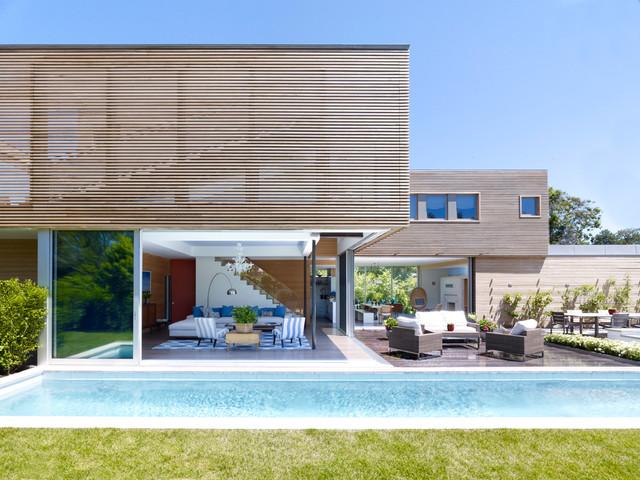Modern Summer House - Contemporary - Exterior - new york ...