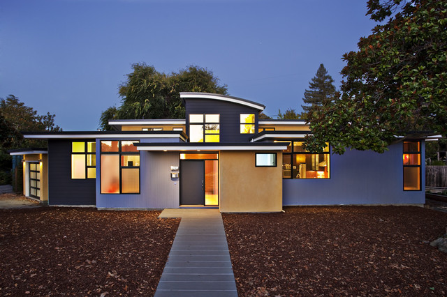 Modern Sustainable Architecture contemporary-exterior