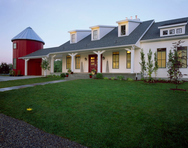 Modern Traditional Farmhouse Exterior Salt