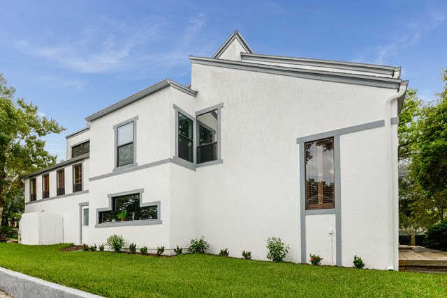 Modern update modern exterior tampa by nwc for Updating 80s contemporary home exterior