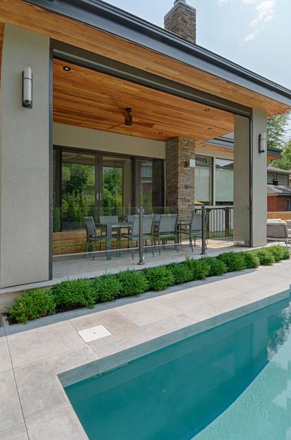 Modern Urban Infill Contemporary Exterior Ottawa By Maple Leaf Custom