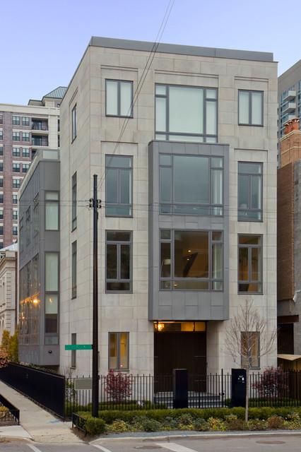 Modern urban residence contemporary-exterior