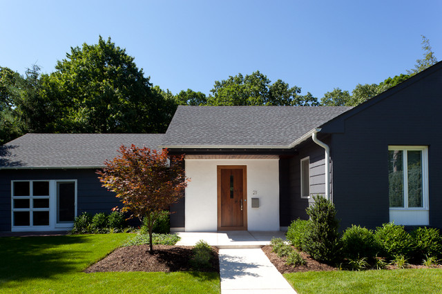Short Hills, NJ renovation contemporary-exterior