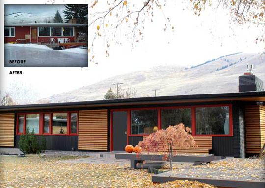Modernized Mid Century Modern Modern Exterior