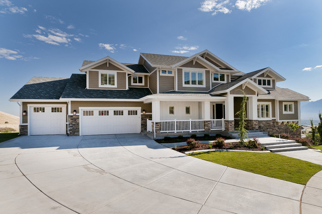 Modified Telluride by Candlelight Homes craftsman-exterior