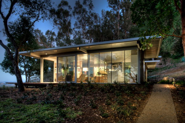 Modular Glass Guest House Modern Exterior San Francisco By Canyon Con