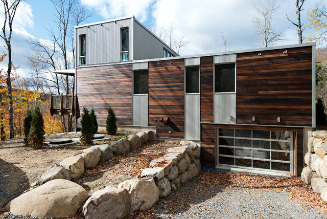 Incroyable Modular Home In The Laurentians   IME Habitat Contemporary Exterior