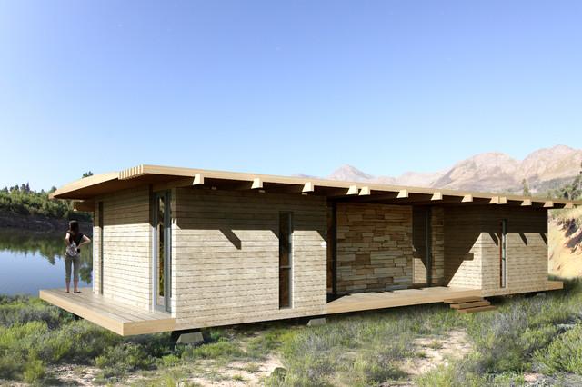 Modular Timber Eco Homes Modern Exterior Other Metro