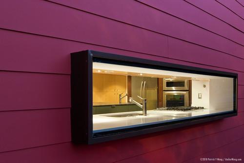 Protruding Window Frame