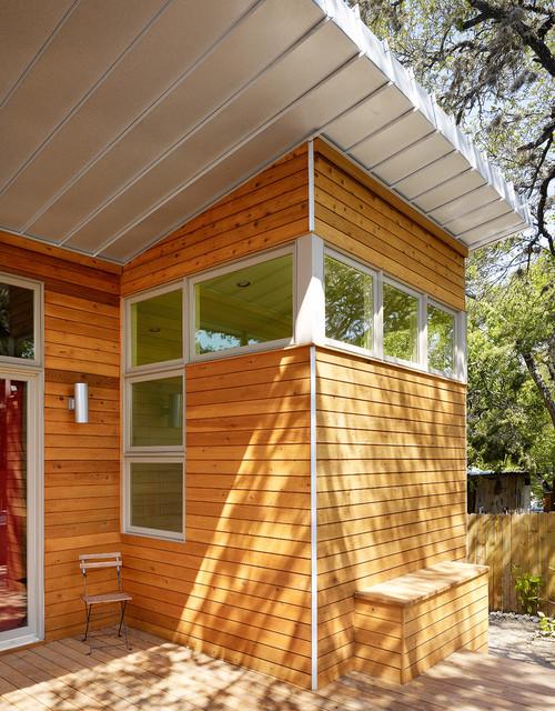 Monroe Street House Modern Exterior Austin By