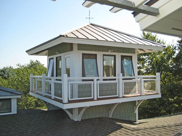 Montauk Tower House contemporary-exterior