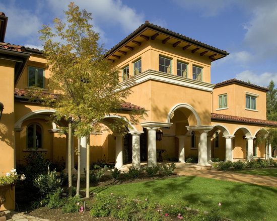 Tuscan roof home design ideas pictures remodel and decor for Tuscan roof design