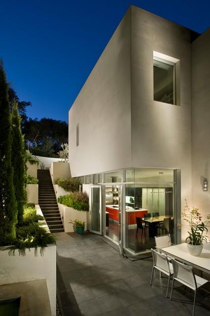 外景外墙现代风格装饰效果图