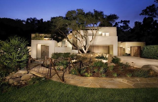 Montecito modern remodel butterfly lane residence contemporary exterior santa barbara - Residence de luxe montecito santa barbara ...