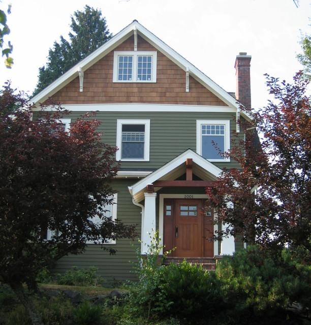 Montlake residence traditional-exterior