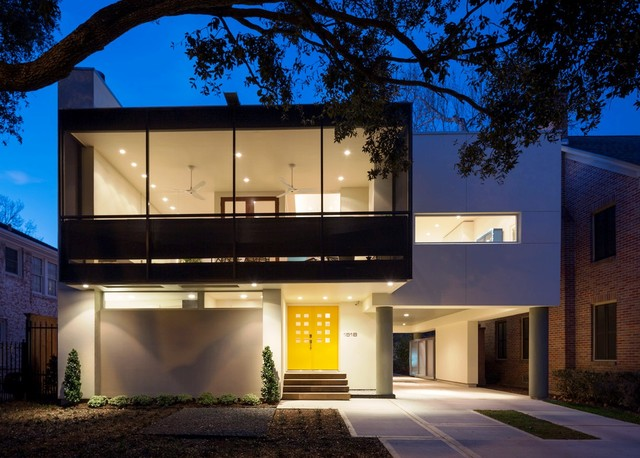Montrose Modern Contemporary Exterior Houston By