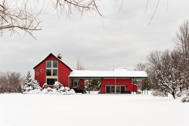 Moorestown Residence farmhouse-exterior