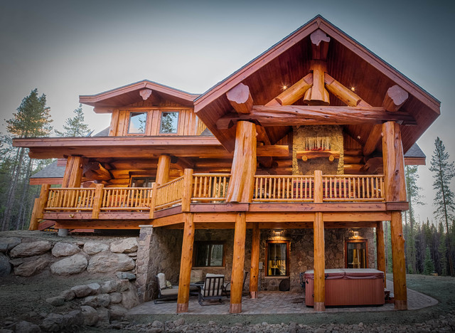Moose Ridge Cabin Breckenridge Log Home Rustic
