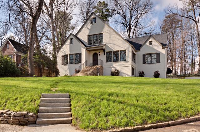 Morningside Make Over Traditional Exterior Atlanta By Blake Shaw Homes Inc
