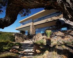 Mornington Peninsula residence contemporary-exterior