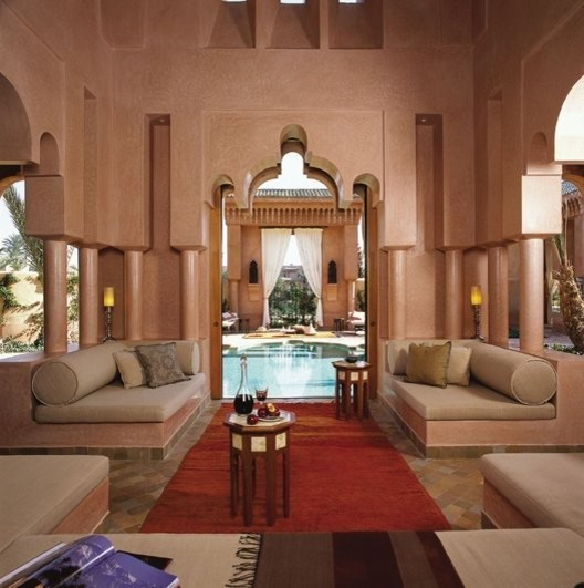 Moroccan patio for Moroccan style home accessories