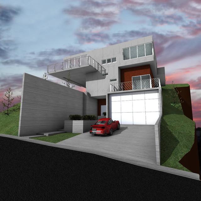 morro bay residence modern-exterior