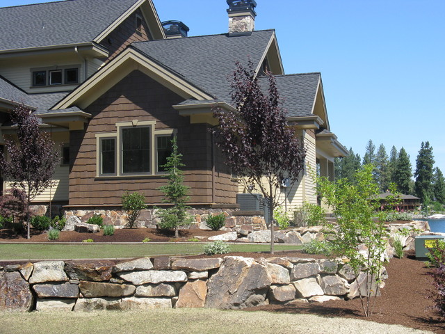 Mossy Mountain - Lake CDA Home traditional-exterior
