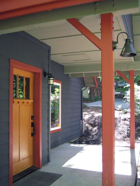 Mountain Cabin Exterior modern-exterior