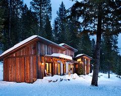 Mountain Cabin rustic-exterior