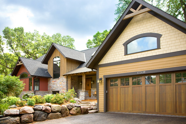 Mountain Charm Traditional Exterior Minneapolis By