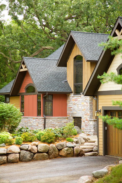 Mountain Charm traditional-exterior