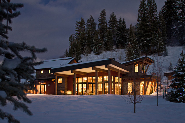 Mountain Contemporary Home In Steamboat Springs, Colorado