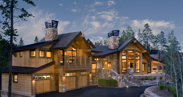 Mountain home exteriors traditional exterior other for Mtn house