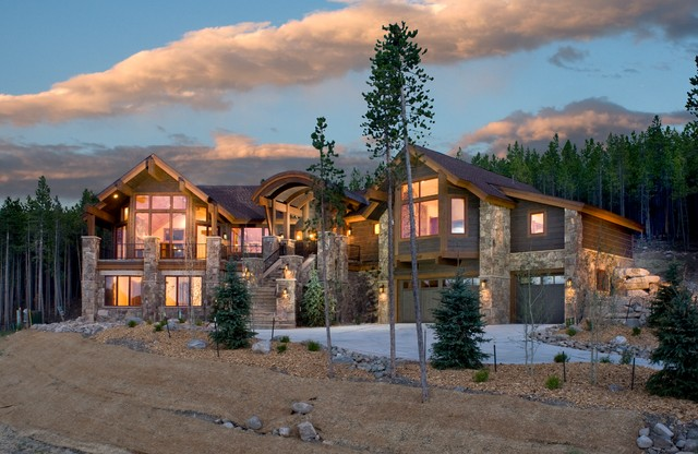 Mountain Home Exteriors Traditional Exterior Other