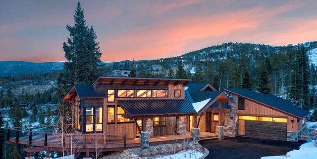 Mountain Home Exteriors Contemporary Exterior Denver by bhh