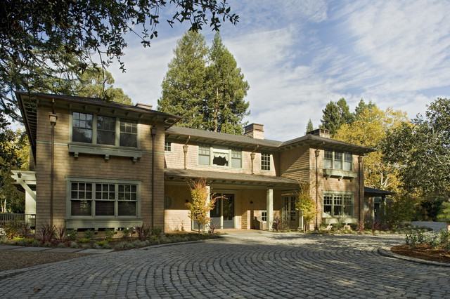 Mountain Home Residence traditional-exterior
