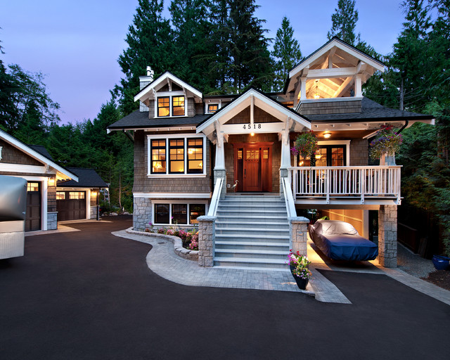 Mountain Hwy craftsman-exterior