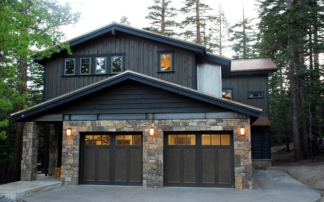 Mountain modern traditional exterior other metro for New traditional house