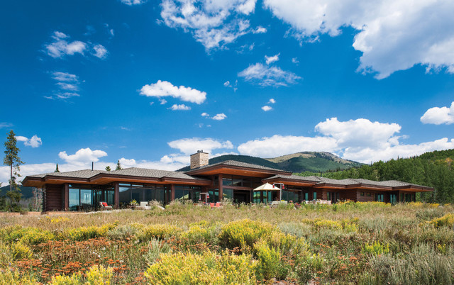 Colorado Modern Mountain Home Modern Exterior By M T